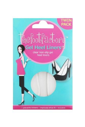 Foot Factory Gel Heel Liners 1pár - gelové polštářky