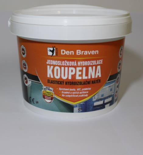 Den Braven jednosložková hydroizolace koupelna 2,5 kg