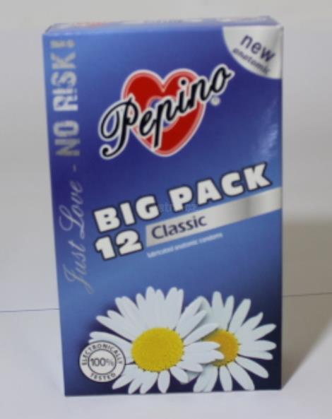 Pepino Classic kondomy 12 ks