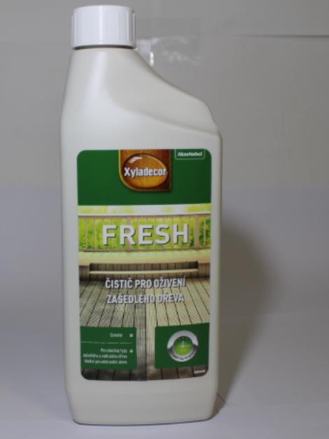Dulux Xyladecor Fresh čistič zašedlého dřeva 750 ml