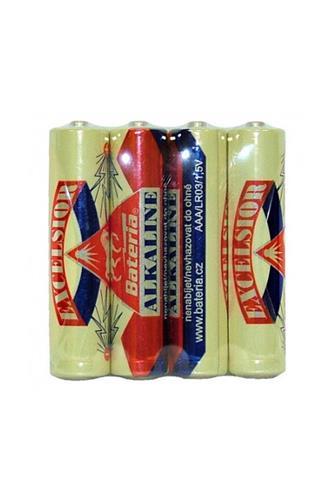 Bateria Excelsior alkalické AAA LR03 1,5V 4 ks