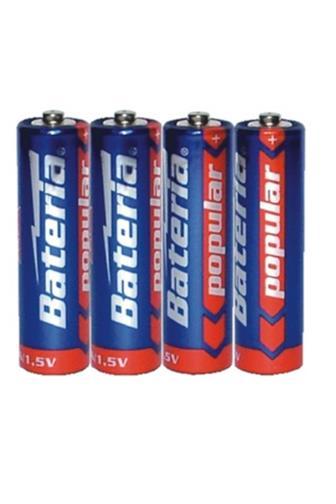 Bateria tužková alkalická AA/R6 4 ks