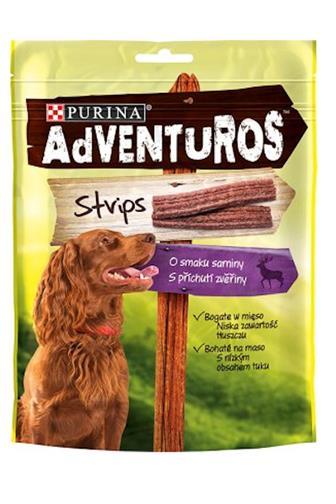 Adventuros Strips příchutí zvěřiny 90 g