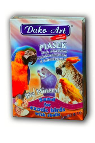 Dako-Art minerální písek pro exotické ptáky 1 kg