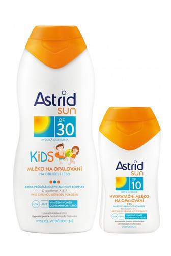 Astrid Sun dětské mléko na opalování OF 30 + mléko na opalování OF10 200 ml