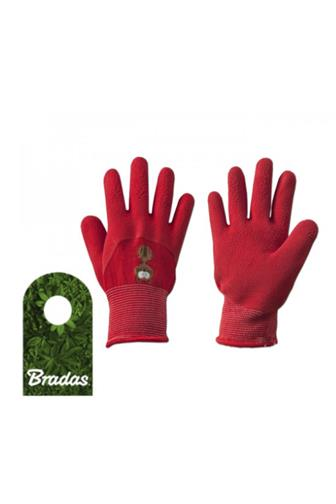 Bradas Dětské ochran. rukavice č. 4 (červené)