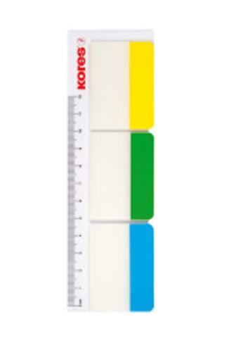 Kores Popisovací rozřaďovač na pravítku 50 x 37 mm