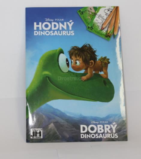 Omalovánky A5 Hodný dinosaurus
