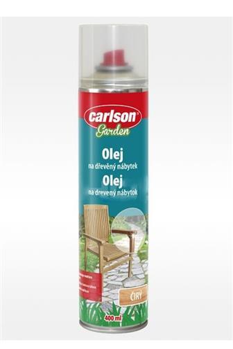 Carlson olej na dřevěný nábytek čirý spray 400 ml