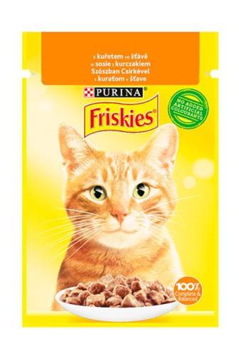 Friskies Cat kapsička kuřecí ve šťávě 85 g