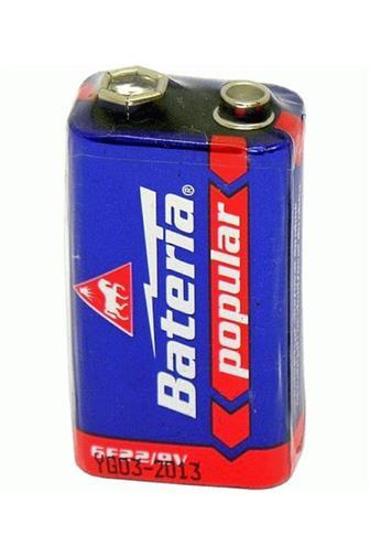Bateria Popular 6F22 9V