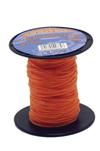 Festa Provázek stavební 1,0 mm x 50m oranžový