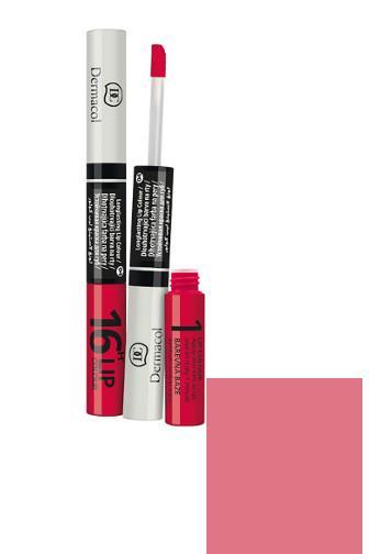 Dermacol Lip Colour 2v1 dlouhotrvající barva na rty 01