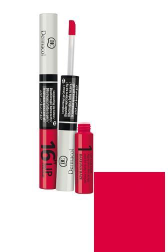 Dermacol Lip Colour 2v1 dlouhotrvající barva na rty 04