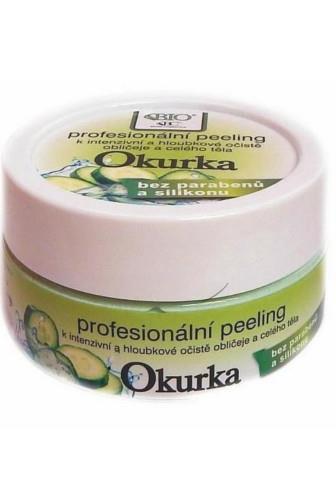 Bione Cosmetics Peeling na obličej a celé tělo Okurka 200 g