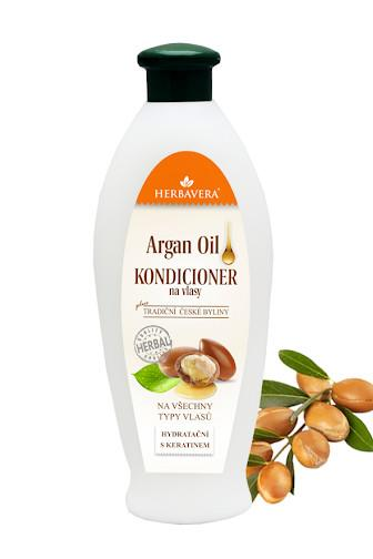 Herbavera kondicionér arganový olej 550 ml