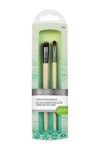 Ecotools Sada kosmetických štětců na korektor ULTIMATE CONCEALER DUO Brushes 15cm 2 ks