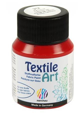 Nerchau Textile Art 312 karmínová 59 ml