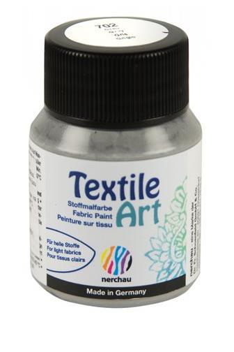 Nerchau Textile Art 702 šedá 59 ml