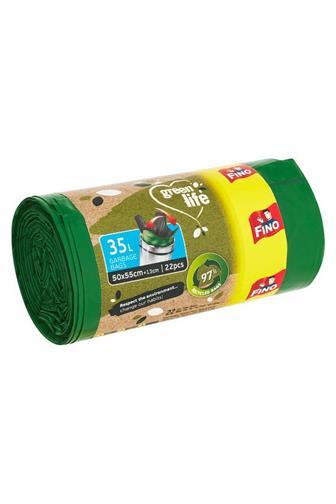 Fino Green Life sáčky do koše eko 50 x 55 cm 35 l