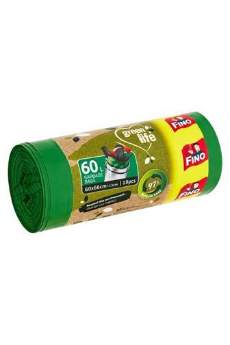 Fino Green Life sáčky do koše eko 50 x 55 cm 60 l 18 ks