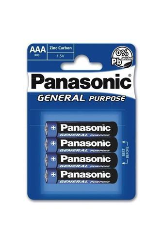 Panasonic AAA R03 1.5 V 4 ks