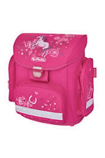 Herlitz Školní batoh Midi kůň - růžovový s vybavením