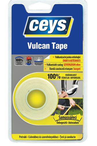 Ceys vulcan tape utěsňující samosvářecí 3 m x 19 mm