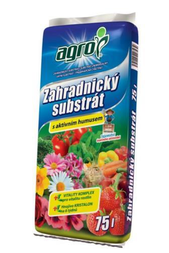 AGRO Zahradnický substrát univerzál 75l