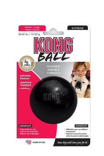 Hračka Kong pro psy míč střední guma