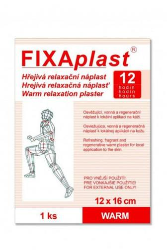 Fixaplast hřejivá náplast 12hodin 12x16cm 1 ks