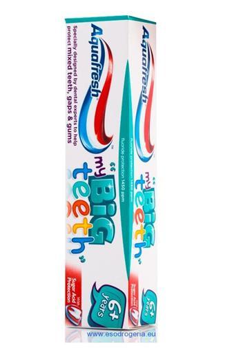 Aquafresh my Big teeth dětská zubní pasta 6-8 let 50 ml