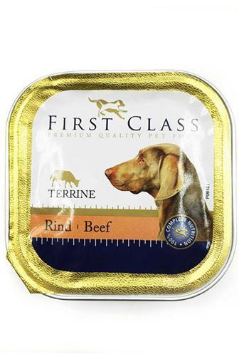 First Class paštika hovězí pro psy 150 g