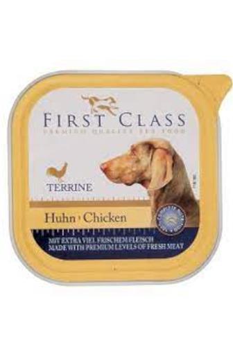 First Class paštika drůbeží pro psy 150 g