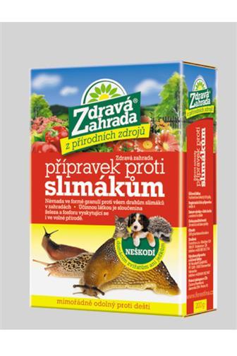 Forestina Zdravá zahrada přípravek proti slimákům 200 g