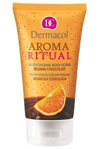 Dermacol Aroma Ritual harmonizing tělový peeling belgická čokoláda 150 ml