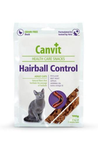 Canvit Cat Health Snacks Hairball Control 100 g