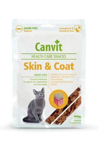 Canvit Cat Health Snacks Skin & Coat 100 g
