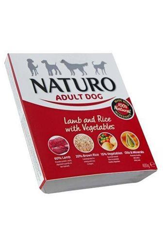 Naturo Adult Dog jehně s rýží a zeleninou 400 g