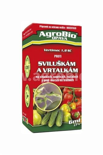 Agrobio Vertimec proti sviluškám a vrtalkám 6 ml