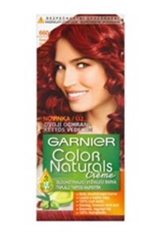 Garnier Color Naturals Créme barva na vlasy granátová červená 660