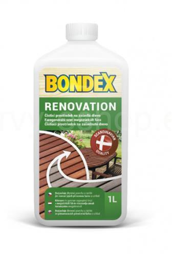 Bondex čistič dřeva Renovation 1l