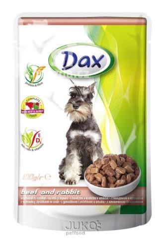 Dax kapsička s hovězím a králičím 100 g