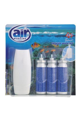 Air Menline happy spray Aqua World 3 x 15 ml