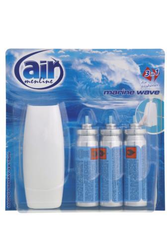 Air Menline happy spray Marine Wave 3 x 15 ml