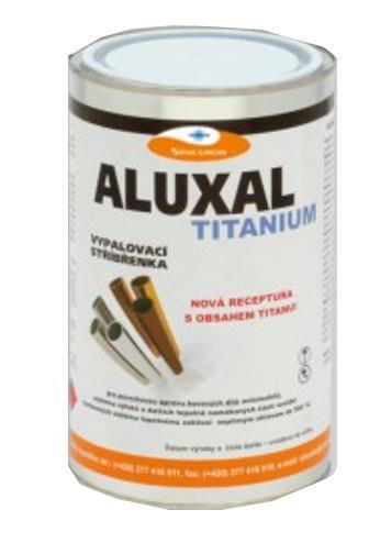 Aluxal Titanum vypalovací žáruvzdorná stříbřenka 1 kg