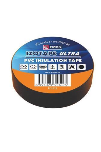 Emos Páska elektroizolační černá 15 mm x10 m