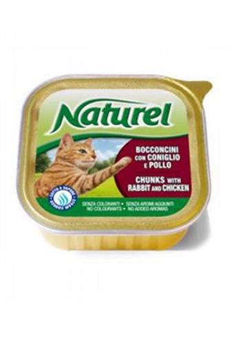 Naturel Cat králík a kuře 100 g