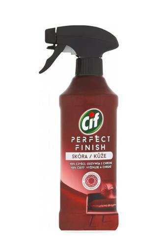 Cif Perfekt Finish Kůže 100% čistí, vyživuje a chrání 435 ml