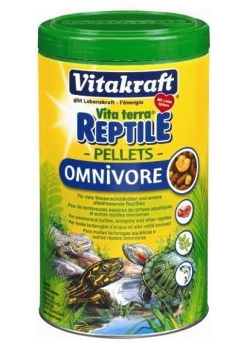 Vitakraft Reptile Pellets pro želvy 250 ml